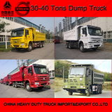 Sinotruck HOWO-7 6X4 carro de descargador de 25 toneladas