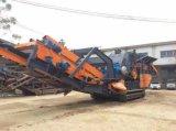 Тип передвижной каменный задавливая завод Crawler с большой емкостью (YT-250)