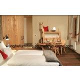 Jogo de quarto de madeira da mobília do hotel do projeto simples