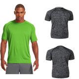 OEM desgaste de la gimnasia camiseta del deporte de la aptitud ajuste seco camisetas