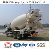 camion di trasporto concreto del miscelatore di trasporto dell'euro 3 di 10cbm Foton Daimler con Weichai