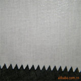 Stof T/C van de Stof van de polyester de Gesmolten Interlining Bovenkant voor de Kraag van het Overhemd