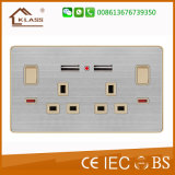 Socket de pared del USB del enchufe de Manufacutre 2