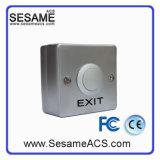 Alliage d'aluminium aucun bouton de porte de COM d'OR avec le rectangle (SB5HK)