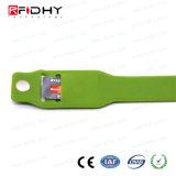 Transporte da alta qualidade que Ticketing o Wristband para o controle de acesso