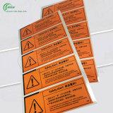 Collants de qualité pour l'alerte de sûreté (KG-PT030)