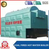chaudière à l'eau chaude 14MW-1.0MPa allumée par charbon horizontal