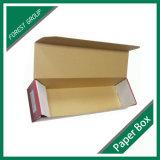 Caixa de transporte ondulada feita sob encomenda do bloco liso para a embalagem da flor