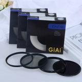 Giaiカメラの射撃のための卸し売り取付けられたND円の分極フィルター