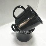 Kop van de Koffie van de Kop van het Ijzer van Cookware van het Email van het keukengerei de Roestvrije