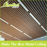 Modèle faux en bois de plafond en métal de qualité de GV pour l'entrée