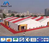 展覧会のための特別で赤いStriptの屋外の移動可能なイベント党テント