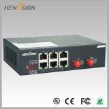 6 de elektrische Schakelaar van het Netwerk van de Haven en van de Toegang van 2 Fx Ethernet