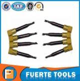 Único moinho de extremidade do carboneto da flauta para o funcionamento de madeira