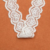 卸し売り良質の刺繍の伸縮性があるレースのトリム