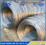 鋼線は、鋼線、電流を通された鋼線はねる