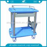 AG-CT010A3 Carro de carrito de plástico de material plástico