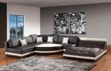 Sofà sezionale moderno, sofà d'angolo con figura di U per mobilia domestica