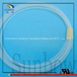Pura materia prima Micro PTFE Tubería, alta temperatura de la tubería del Teflon PTFE, PTFE extruido Tubo
