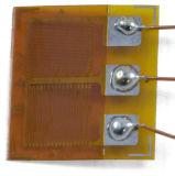 Двухосный тензометр с датчиком из фольги металла датчика для датчика высокой точности