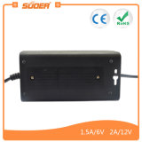 Suoer 6V 12Vの自動充電器(SON-D2A)