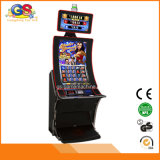 Bent Screen Coin Operado Gambling Casino Slot Game Machine para venda