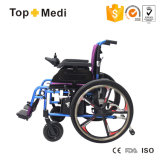 Cadeira de roda elétrica de dobramento da potência da roda destacável Multi-Function médica da saúde