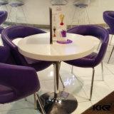 Kkrは正方形デザイン樹脂の石の食卓をカスタマイズした