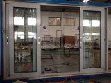 Portello scorrevole di alluminio della rottura termica di vetro del doppio del migliore venditore di Woodwin per il balcone