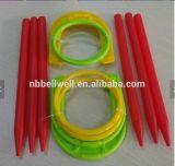 Juego de herradura de plástico y juego de lanzamiento de anillo