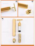 couleur d'or de barre de beauté de l'or 24k pour le régime de face