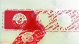 Hohe Sicherheits-Karton-Dichtungs-Band-geöffnetes leeres Verpackungs-Band