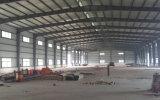Disposición del taller de la fabricación de la estructura de acero