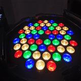 РАВЕНСТВО 54PCS 3W RGBA многофункциональное СИД может осветить для выставки случая этапа DJ