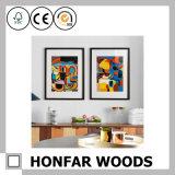 Europäischer festes Holz-Abbildung-Foto-Rahmen für Wand-Dekoration