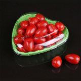 使い捨て可能なハート形のプラスチックいちごのフルーツの食糧貯蔵容器