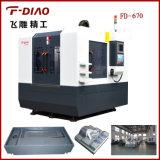 Tipo máquina do pórtico de trituração do CNC sem. Linha central 4 giratória (FD-670)