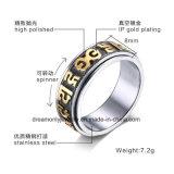 Anello di Spiner dell'anello dell'acciaio inossidabile di modo 316L