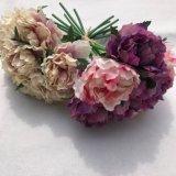 Искусственний цветок Hydrangea с вспомогательным оборудованием штанги DIY цветка Silk для украшения венчания дома партии