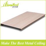 De opgeschorte Houten Plafonds van de Strook van het Aluminium van het Metaal