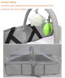 Enrichir en gros 3 dans 1 sac de couche-culotte, sac portatif de couche-culotte de course de bébé avec la garniture changeante