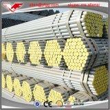 Tubo de acero galvanizado sumergido caliente pesado medio ligero BS1387