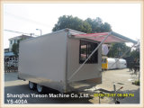 Ys-400A 밴 최신 판매 간이 식품 트럭 체더링