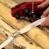 16mm alambre galvanizado Hebillas para Strapping
