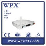 Optisches Ontario des Netz-Geräten-Terminal-4 GE-Gpon Wpx ONU