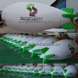 Dirigeable souple gonflable extérieur de zeppelin d'hélium pour la publicité