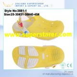 EVA Jelly Kids LED Light Garden Shoes Colorful Holey Tamancos