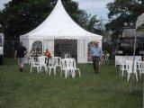шатер Pagoda шатёр PVC алюминия 5X5m напольный для случая