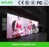 Tela grande video do indicador de diodo emissor de luz do fundo de estágio da tela HD da parede de cortina do estágio do diodo emissor de luz para o concerto P6.25