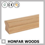 建築材料のための60X30mmの純木の赤いカシ階段手すり